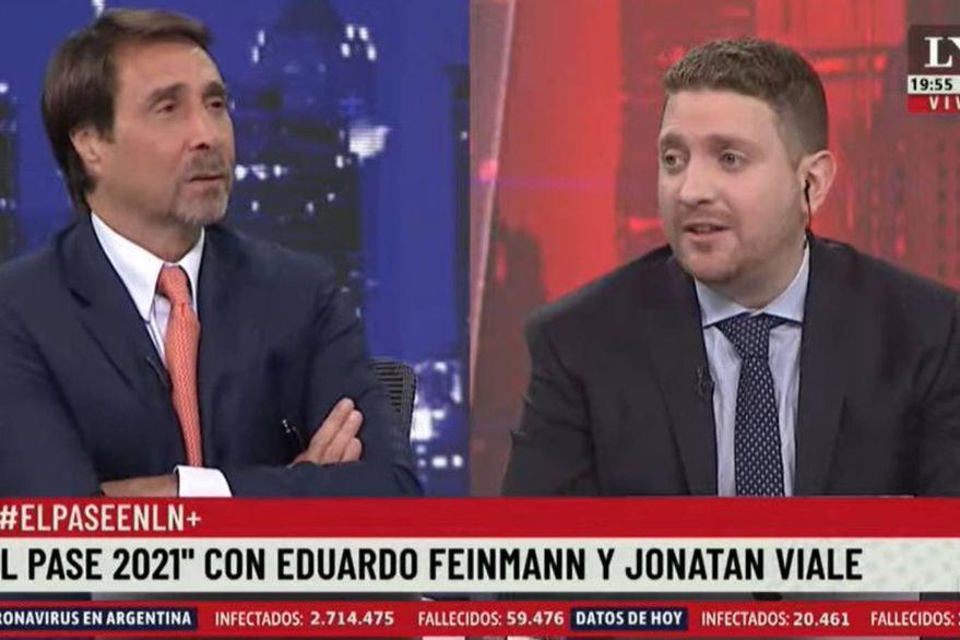 El inesperado pase de factura de Feinmann a Jony Viale