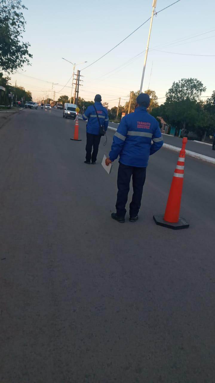 Nuevo control vehicular en Barranqueras