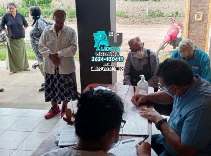 COVID-19: Más de 3000 personas mayores de 60 años vacunadas en el norte chaqueño