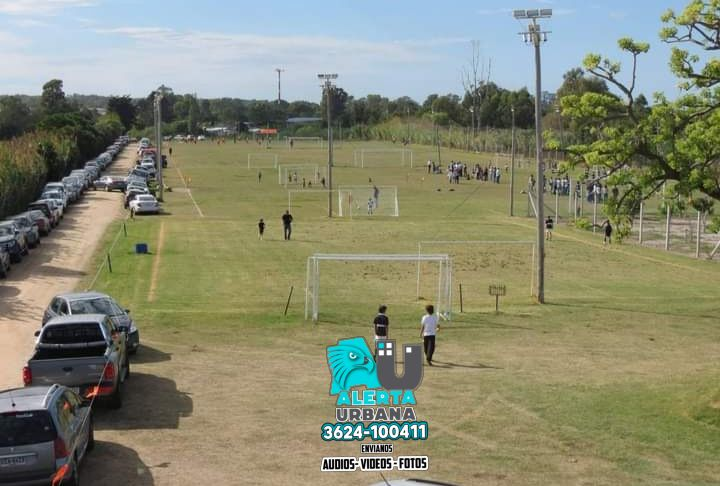 Resistencia: ¿fútbol sin respetar los protocolos?