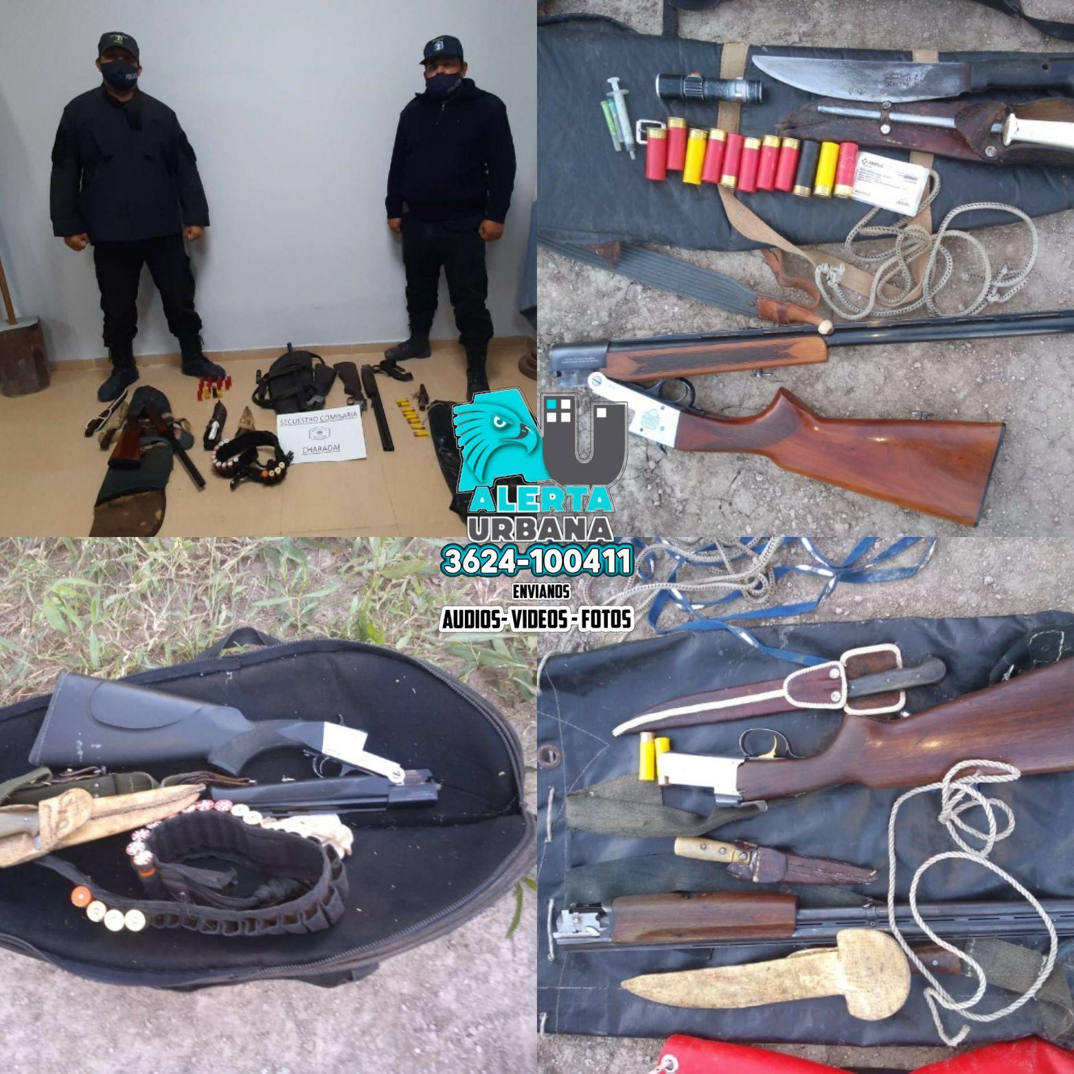Charadai: caza ilegal