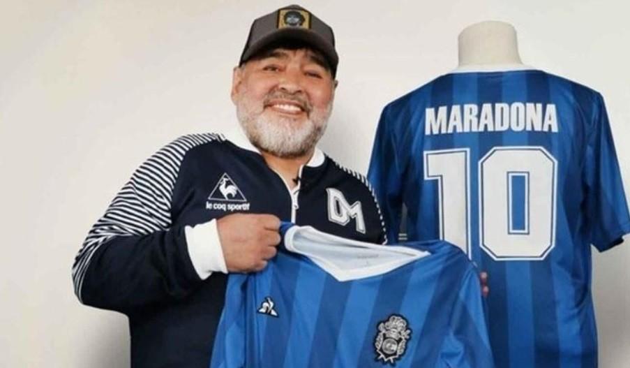 La marca Diego Maradona quedó restringida