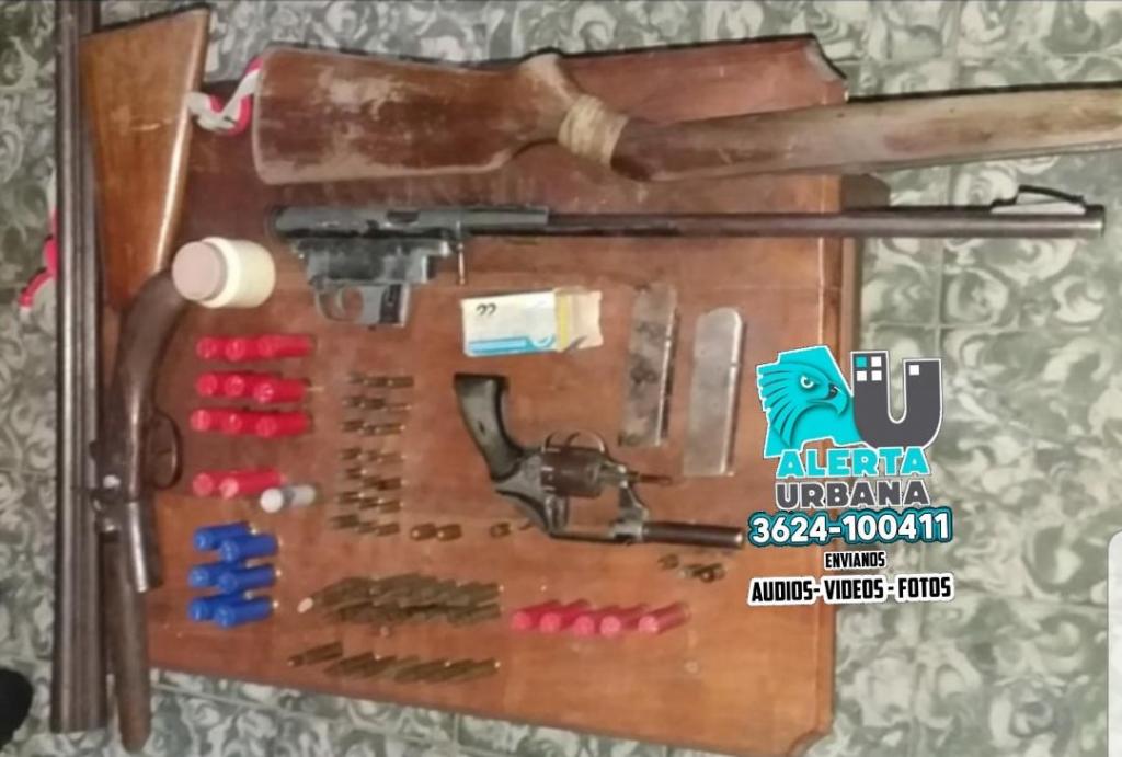 La Leonesa: tenía un arsenal de armas en su  casa