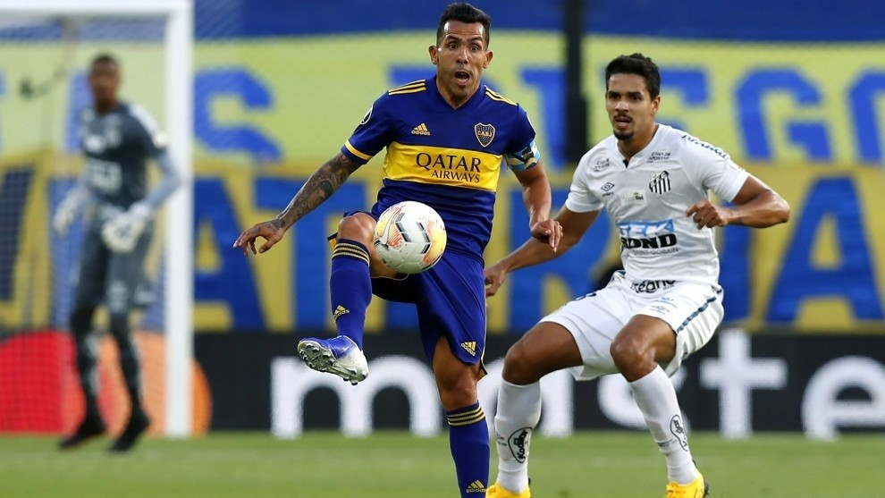 Boca visita a Santos