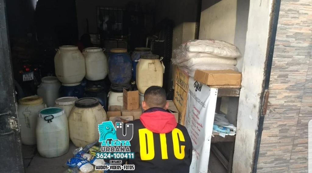 Secuestran productos de limpieza valuados en un millos de pesos
