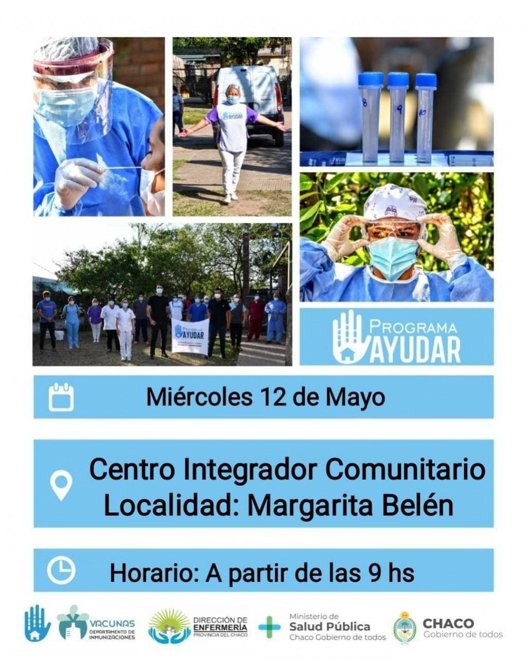 COVID-19: el Programa Ayudar llega a Margarita Belén
