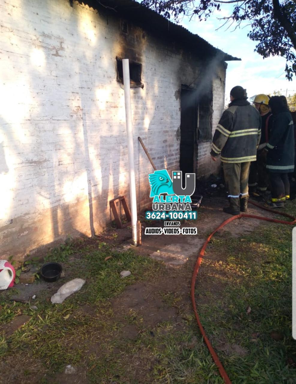 Sofocan incendio en un domicilio