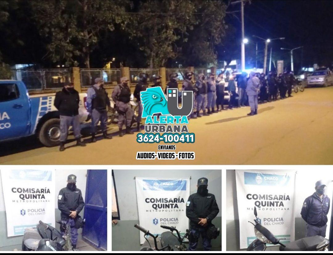 Secuestraron 4 motocicletas y detuvieron a un hombre por disturbios en la vía pública