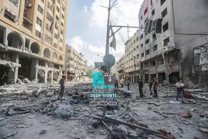 Franja de Gaza: ascienden a 50 los palestinos muertos y a más de 300 los heridos por los bombardeos de Israel