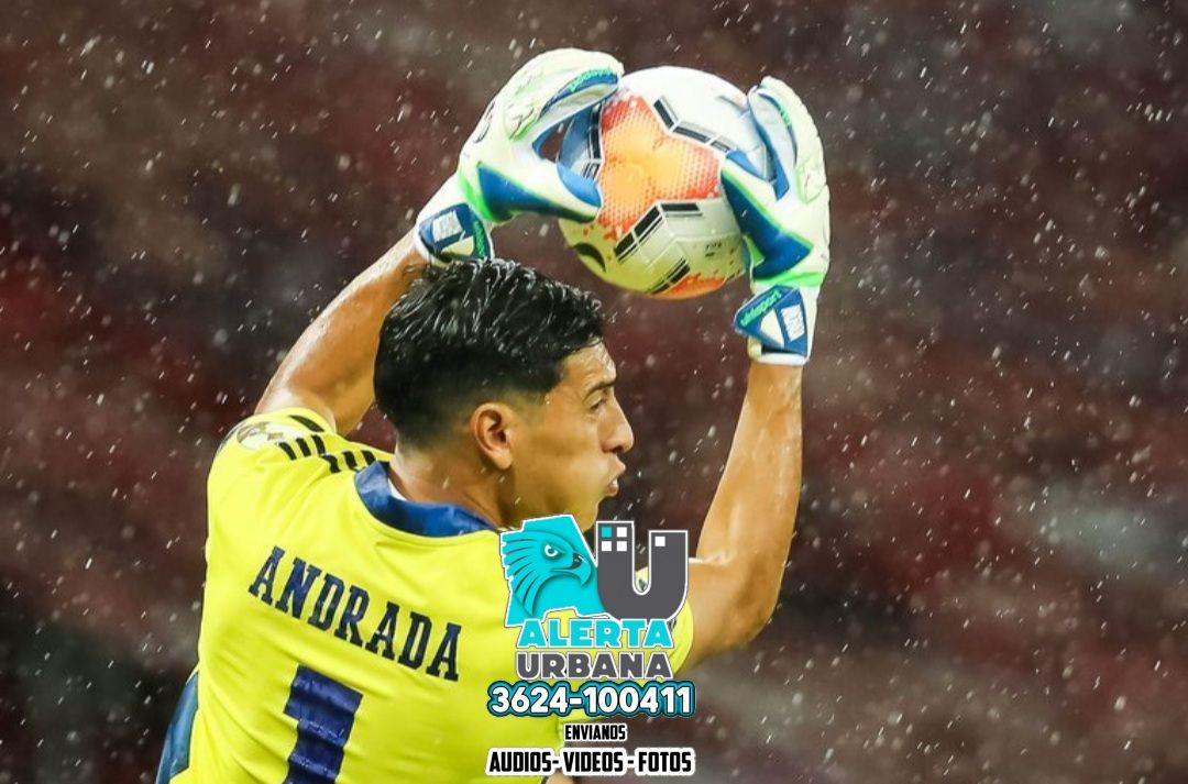 Esteban Andrada dio negativo en los tests de coronavirus y volverá hoy a Argentina para sumarse a Boca
