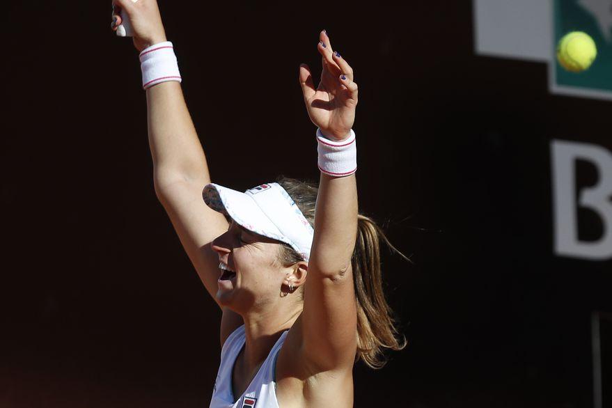 Nadia Podoroska logró el triunfo más importante de su carrera