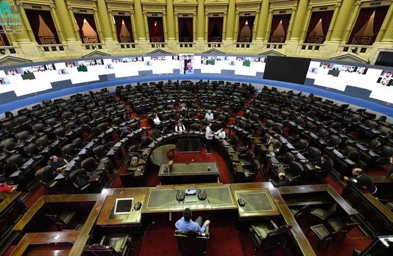 Debate de los diputados sobre la postergación de las elecciones