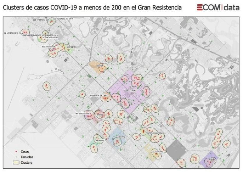 Chaco: nuevas medidas por el aumento de casos