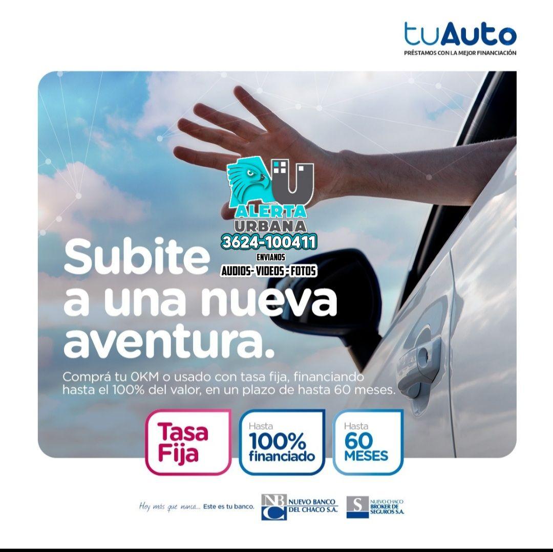 Nuevo Banco del Chaco relanza los préstamos Tu Auto, para vehículos nuevos y usados