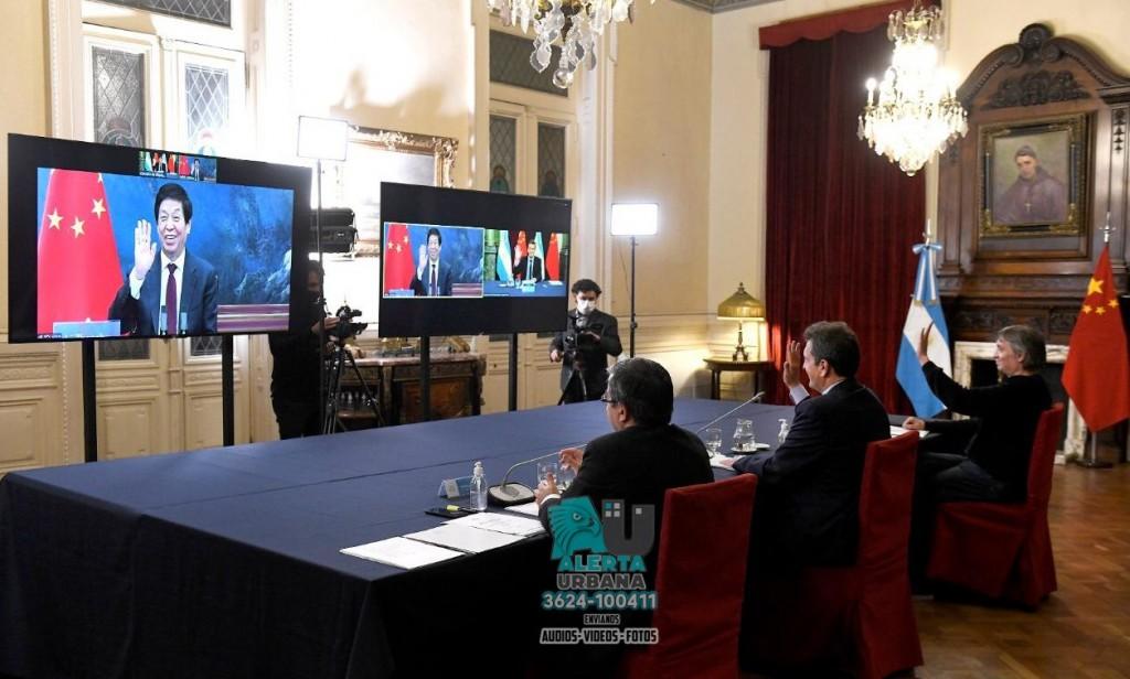 China comunicó su respaldo a la Argentina en las negociaciones con el FMI