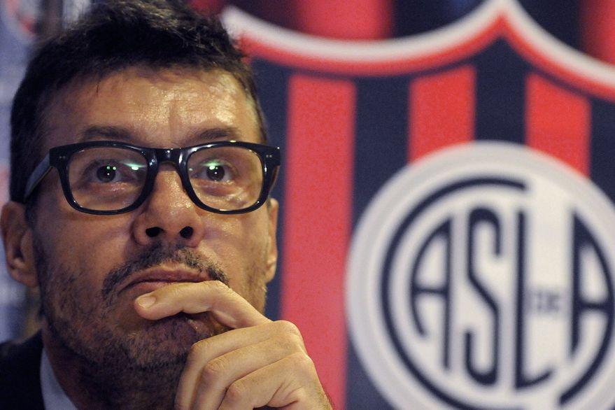 San Lorenzo: Marcelo Tinelli pidió una licencia como presidente del club