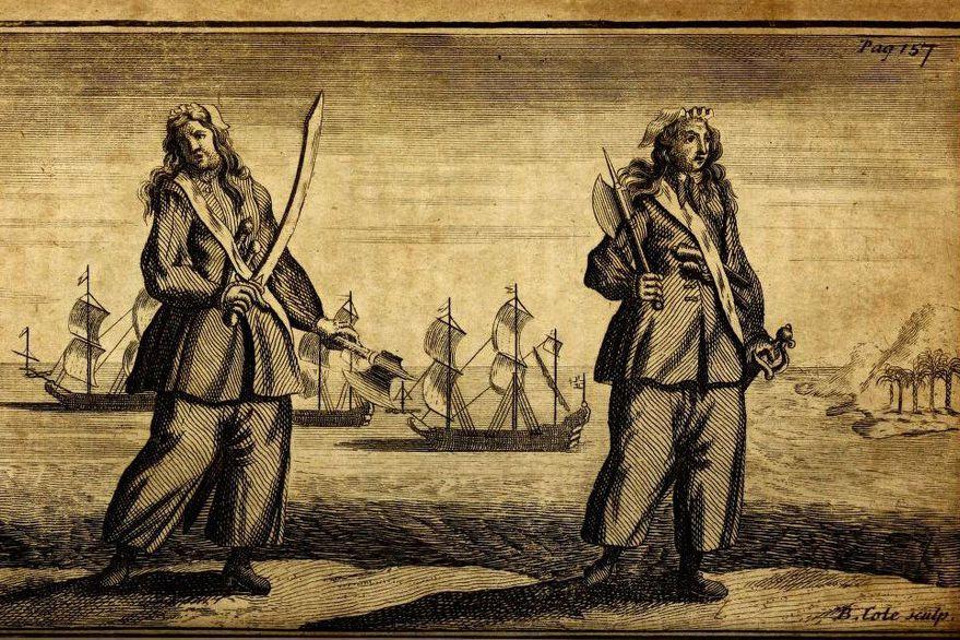 Las temibles piratas del Caribe