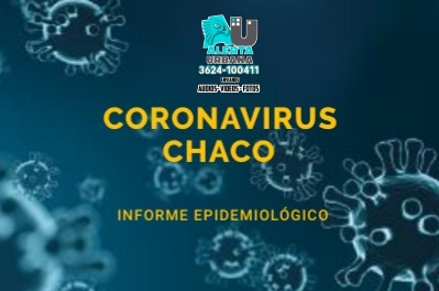 Chaco: Nación reportó 685 nuevos contagios y seis muertes en las últimas 24 horas