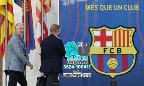 Bomba en Barcelona: Laporta le avisó a Koeman que no seguirá