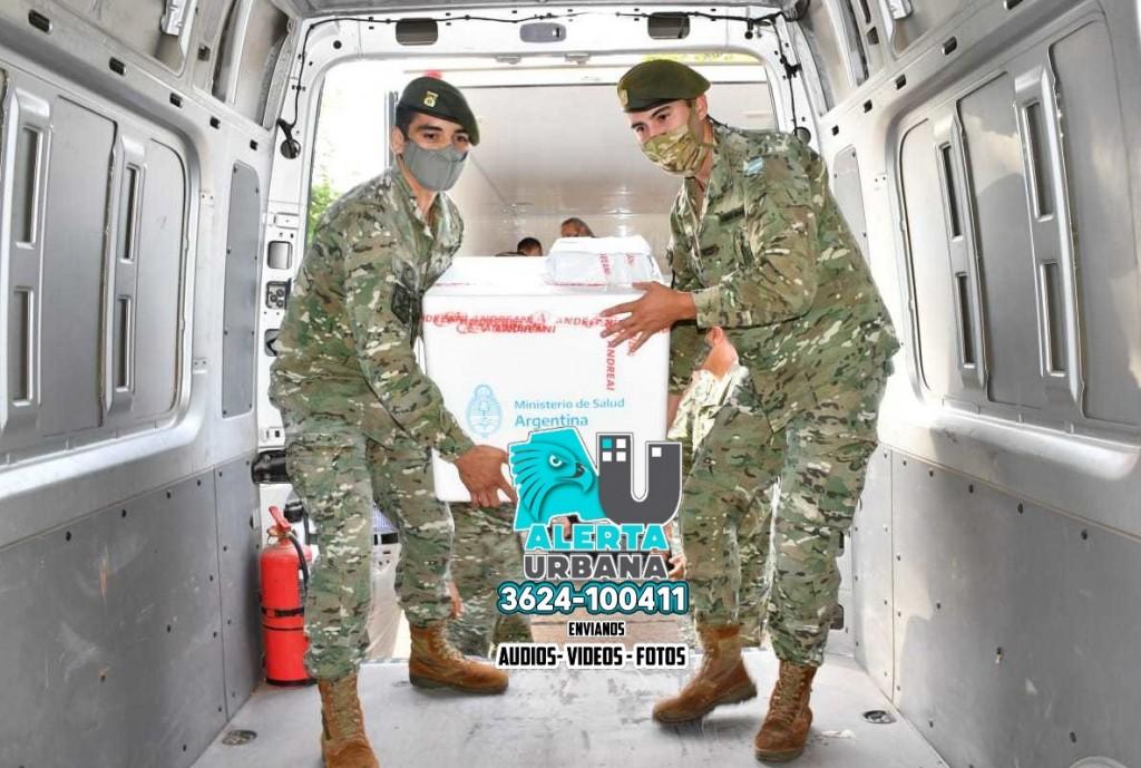 Chaco recibió más de 60 mil vacunas contra COVID-19 en una semana