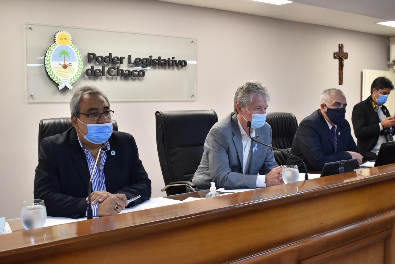 El Parlamento Chaqueño, aprobó la compra de dosis de vacunas