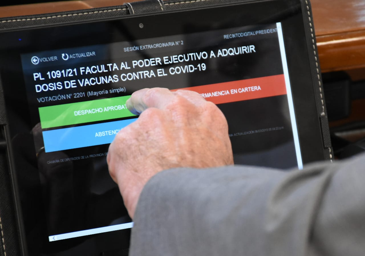 El presidente de la Cámara de Diputados, Hugo Sager celebró el consenso alcanzado