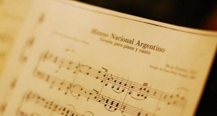 Resistencia: celebración por el Día del Himno Nacional Argentino
