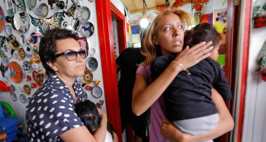 En Tel Aviv, los argentinos se paralizan mientras los israelíes siguen su rutina