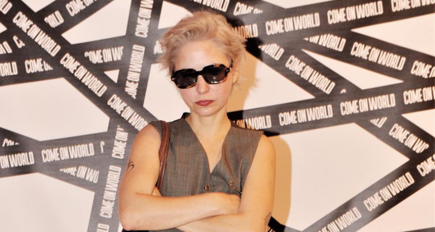 Florencia Macri. Debutó como diseñadora y presentó su marca, Come On, en Miami
