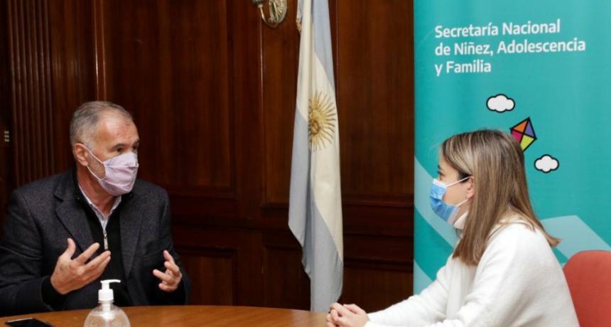 Nación ratificó su respaldo para sostener y ampliar políticas sociales en Chaco