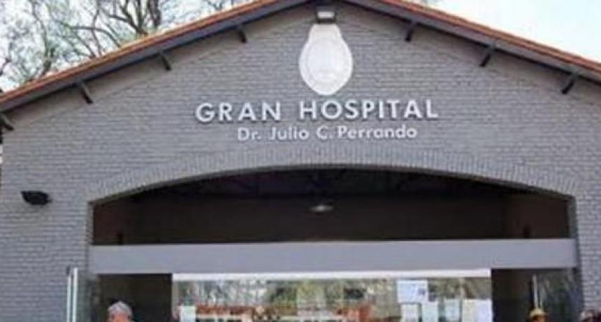 Personal del Programa Experto del Hospital Perrando reclaman por su situación laboral.