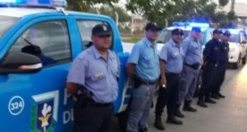 Amplio operativo de la Policía del Chaco durante el Paro Nacional
