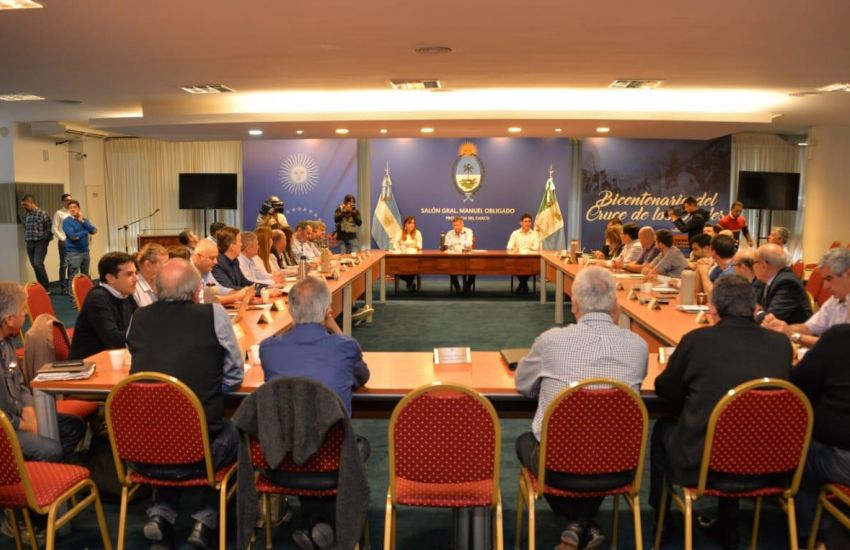 Peppo reunió a su gabinete para optimizar la gestión de gobierno