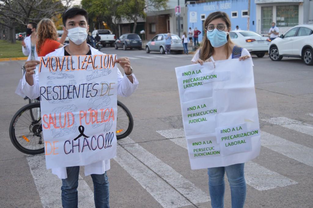 Continúan las repercusiones por la manifestación de los trabajadores de la salud del Chaco
