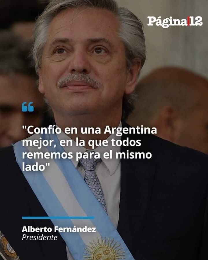 El presidente Alberto Fernández inauguró un hospital.