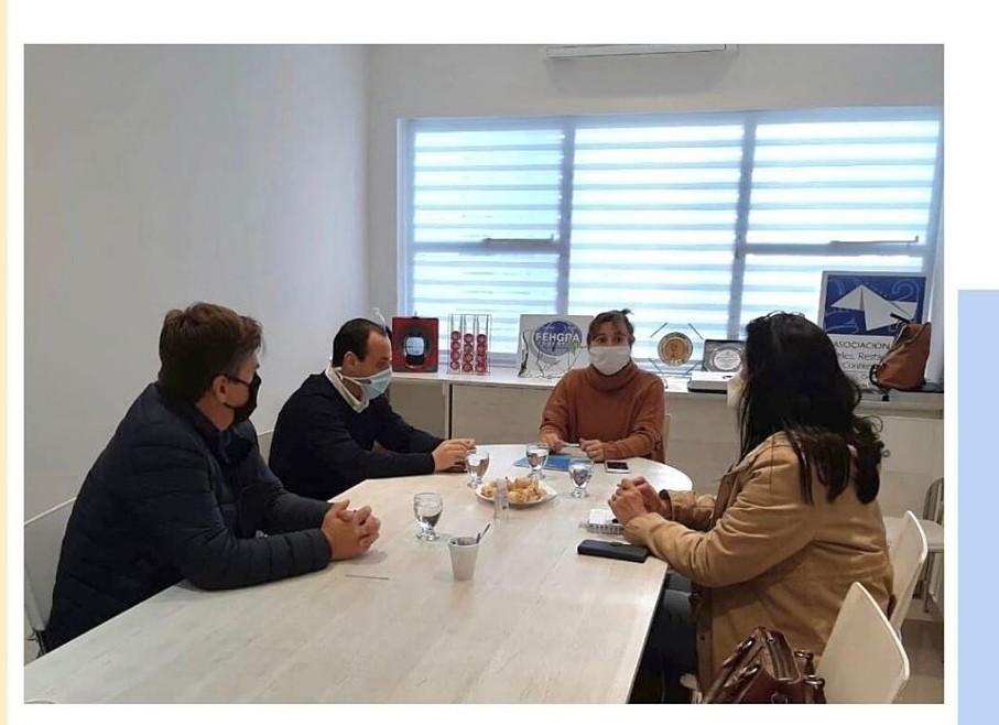 Batalla y Zdero se reunieron con representantes de la Asociación de Hoteles, Restaurantes, Bares, Confiterías y Afines del Chaco