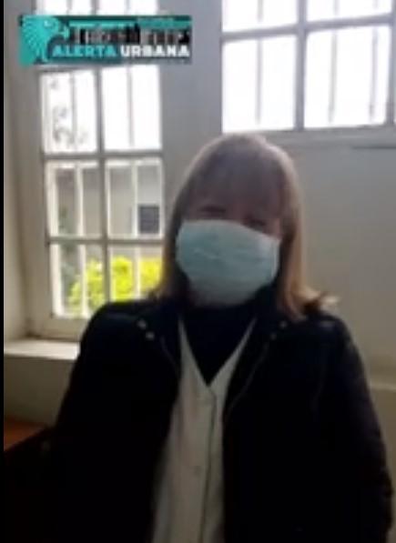 """Dra. Trejo: """"En todo el hospital se cuenta con los elementos de protección personal""""."""