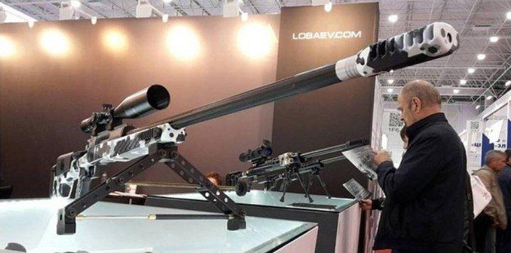 Rusia creó un rifle de francotirador que tiene un alcance de 7 kilómetros.