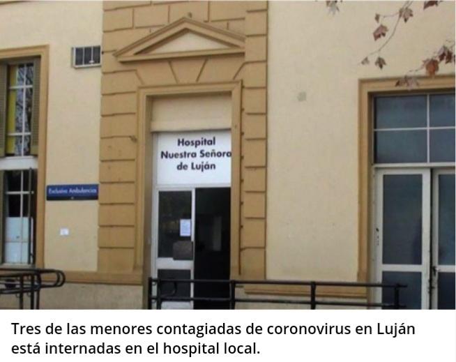 Coronavirus: en Luján hay siete bebés contagiados.