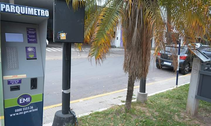 Volvió el estacionamiento medido inteligente a Resistencia.