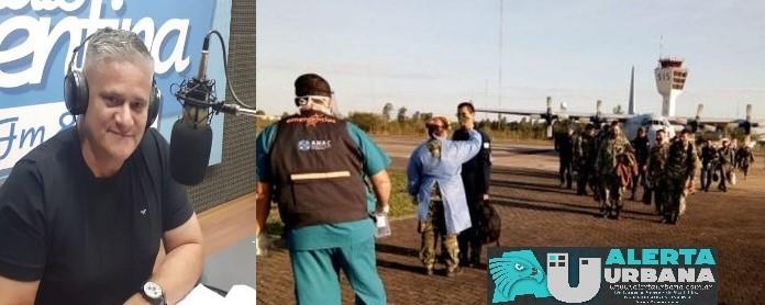 La intervención sanitaria de nación llegó a Resistencia para reforzar y cubrir área de seguridad y salud