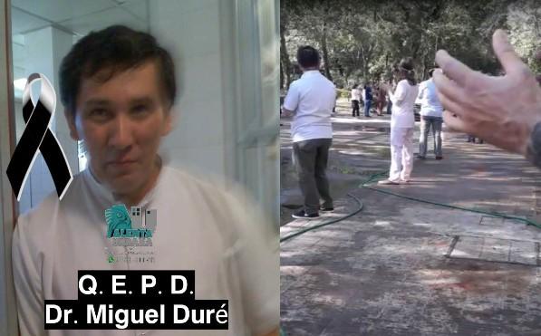 UPCP informa la participación del fallecimiento del Dr. Miguel Duré en la madrugada de hoy