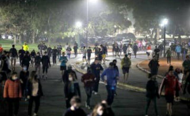 Un aluvión de porteños salieron a hacer ejercicio al aire libre tras 80 días