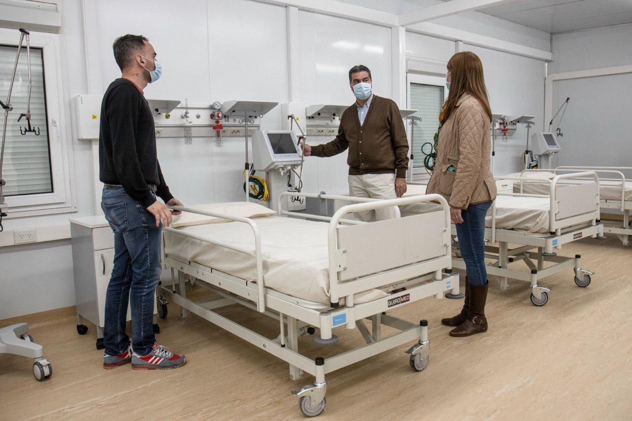 Capitanich puso en funcionamiento el Hospital Modular del Perrando