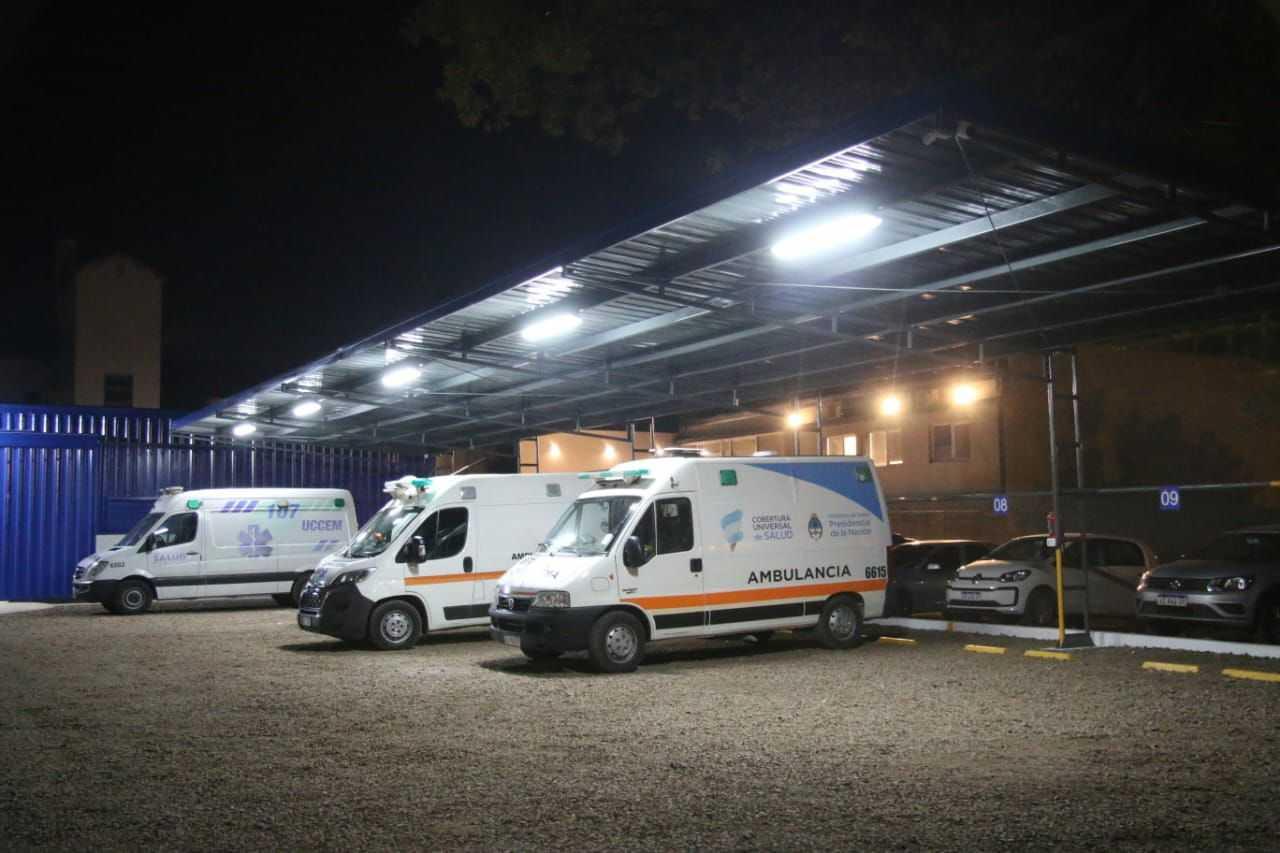 """Obras en la unidad coordinadora de emergencias: """"Invertimos aquí porque es un área de extrema sensibilidad"""", resaltó Capitanich"""