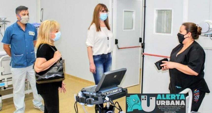 COVID-19: con la internación de pacientes leves, el Hospital Modular entró en operatividad