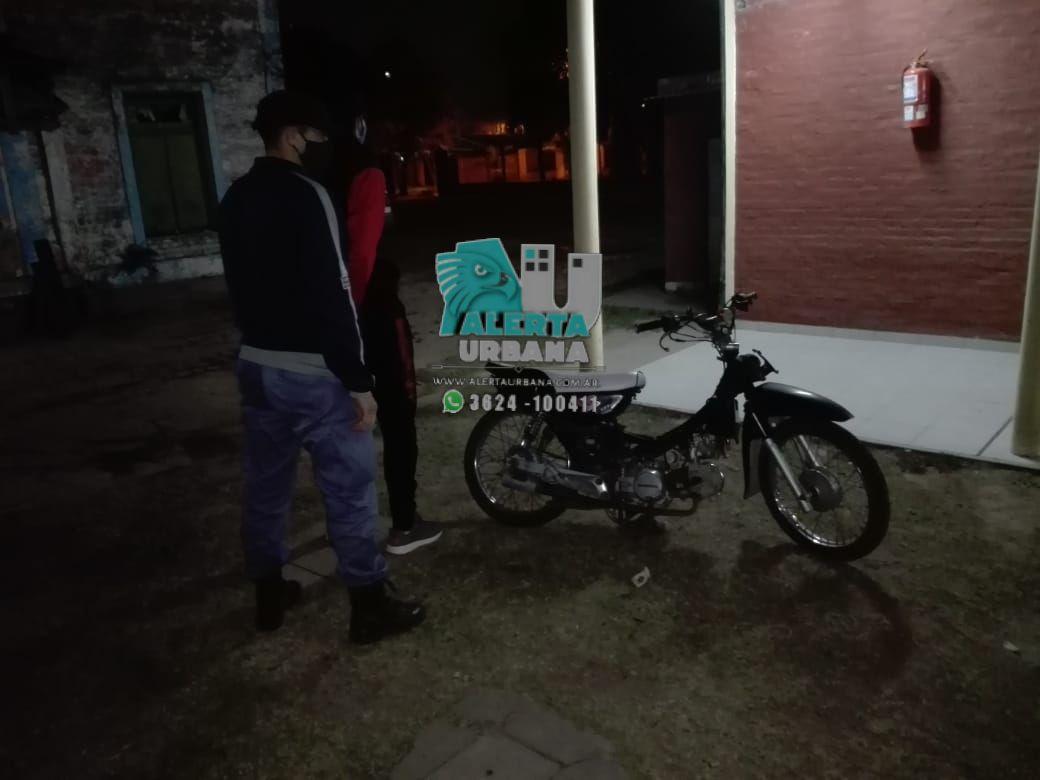 Recuperan motocicleta robada hace 7 años