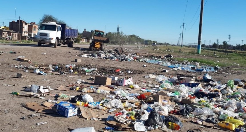 Continúa la eliminación de basurales en la zona sur de Resistencia y piden colaboración de vecinos para mantener la limpieza