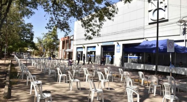 El Banco del Chaco seguirá esta semana el pago por ventanilla a jubilados y pensionados
