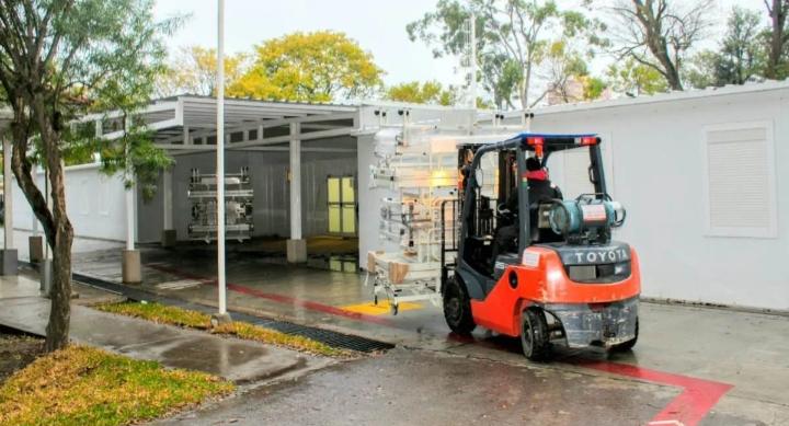Agregarán 24 nuevas camas al hospital modular de Covid-19